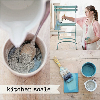 Kitchen Scale Milk Paint