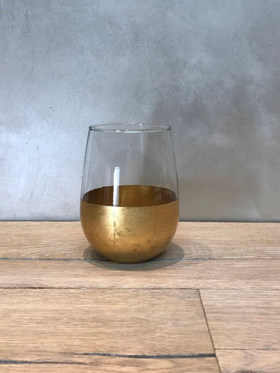Classic Dipped Wine Glasses