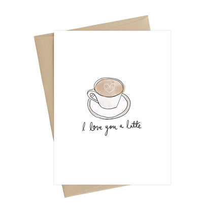 Love You a Latte Card