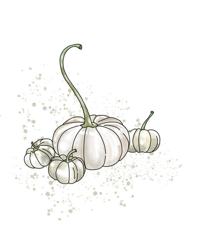 White Pumpkin Tumbler Candle