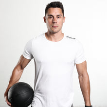 Load image into Gallery viewer, Fitplan Shoulder Logo Shirt White