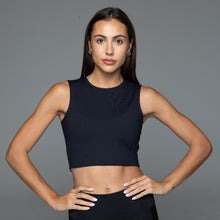 Load image into Gallery viewer, Fitplan Crop Top Black