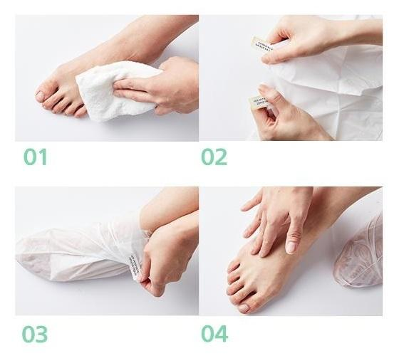BABY FEET - EXFLOIATING FOOT MASK - 10 PCS