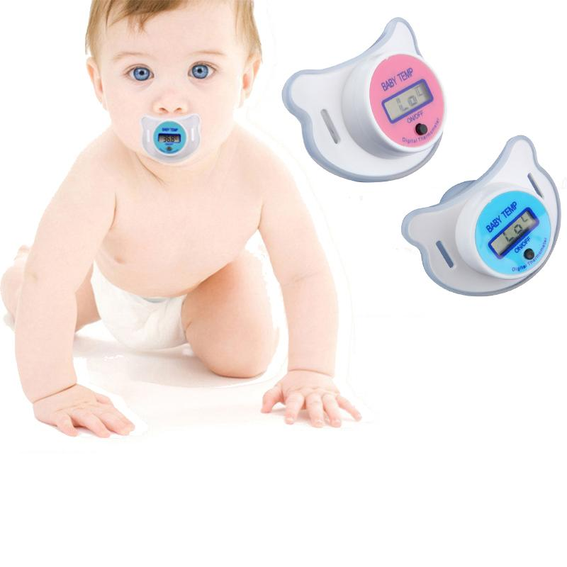 BABY DIGITAL THERMOMETER PACIFIER