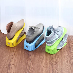 SHOE STORAGE RACK - 8 PCS