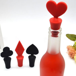 POKER BOTTLE STOPPER