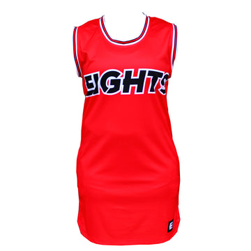BASKET TOSS - RED BASKETBALL DRESS