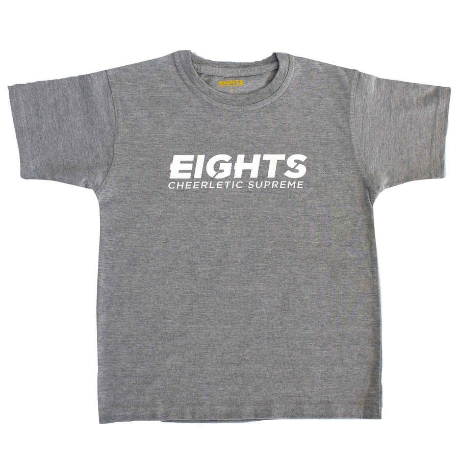 White Block Low Key T-Shirt - eights.com.au