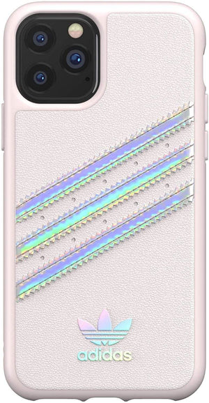 Adidas Cases and Covers Adidas - Original 3-Stripes Case Orchid Tint Holographic (iPhone 11 Pro)