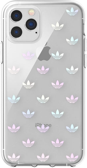 Adidas Cases and Covers Adidas - Original Trefoil Colourful Logo Clear Snap Case (iPhone 11 Pro Max)
