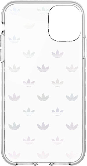 Adidas Cases and Covers Adidas - Original Trefoil Colourful Logo Clear Snap Case (iPhone 11)