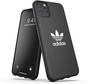 Adidas Cases and Covers Adidas - Original Trefoil Snap Case Black for iPhone 11 Pro Max