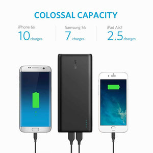 Anker Powerbank شاحن خارجي أنكر باور كور 26800 ميلي أمبير - شاحن فريد من نوعه