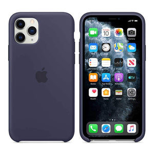 Apple Case & Cover كفر أصلي سيليكون لآيفون 11 Pro Max من Apple - أزرق داكن