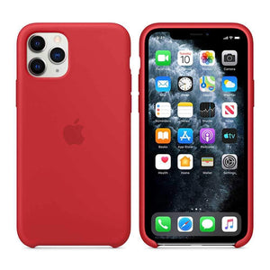 Apple Case & Cover كفر أصلي سيليكون لآيفون 11 Pro Max من Apple - أحمر