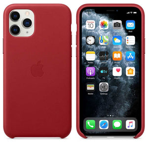 Apple Case & Cover كفر جلدي أصلي لآيفون 11 Pro من Apple - أحمر