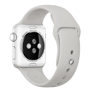 BeHello Electronics & Accessories BeHello - Premium Apple Watch 38/40mm Silicone Strap - Stone