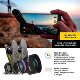 Blackeye Mobile Photography BLACK EYE Pro Kit Universal Smartphone Lens for IOS and Android