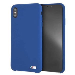 Bmw Case & Cover BMW Silicone Hard Case for iPhone Xs Max - Navy