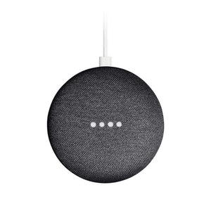Google Speaker Google Home Mini Smart Speaker - Charcoal
