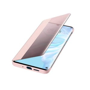 Huawei Case & Cover Huawie P30 Pro Smart View Flip Cover - Pink