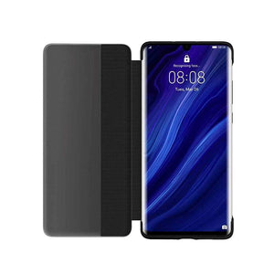Huawei Case & Cover Huawie P30 Pro Smart View Flip Cover - Black