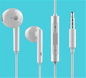 Huawei Speaker Huawei AM115 In-Ear Earphones - White