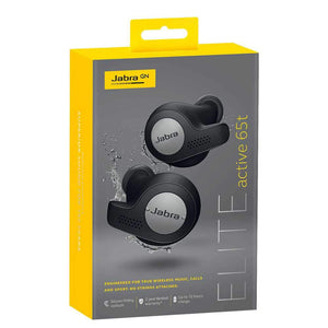 Jabra Earphone/Headphone Jabra Elite Active 65t True Wireless Earbuds with Alexa - Titanium Black