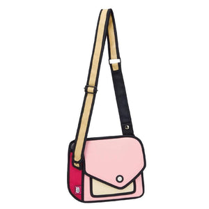 Jump from Paper Bags JUMP FROM PAPER Giggle Shoulder bag - Pink 6.3 inch