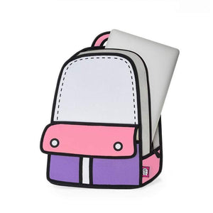 Jump from Paper Bags JUMP FROM PAPER Adventure Backpack - Pink 13 inch