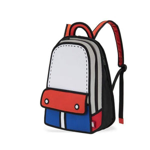 Jump from Paper Bags JUMP FROM PAPER Adventure Backpack - Red 13 inch