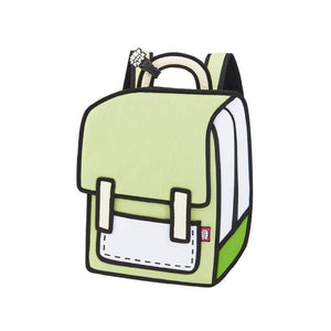 Jump from Paper Bags JUMP FROM PAPER Spaceman Backpack - Greenery 13 inch