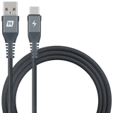 Momax Cables MOMAX ELITE LINK TYPE-C 5A CABLE TRIPLE-BRAIDED 1.2M BLACK