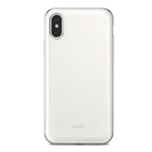 Moshi Cases & Covers MOSHI Iglaze for iPhone XS/X Pearl White