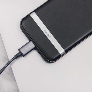 Moshi Power & Connectivity MOSHI Integra USB-C To USB-A Charge / Sync Cable Titanium Gray