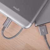 Moshi Power & Connectivity MOSHI Integra USB-A Charge / Sync Cable With Lightning Connector - Titanium Gray