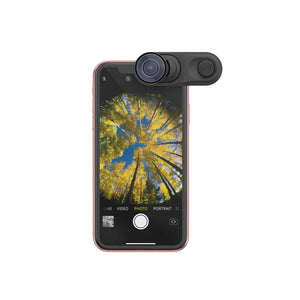 Olloclip Mobile Photography OLLOCLIP Fisheye + Super-Wide + Macro Essential Lenses For iPhone XR