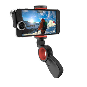 Olloclip Mobile Photography OLLOCLIP Pivot Grip Universal Black / Red