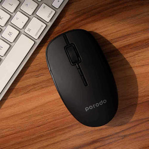 Porodo Mouse/Keyboard ماوس اوبتيكال لاسلكى – 2.4 جيجا هيرتز