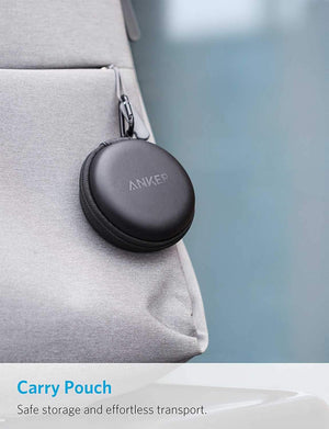 Soundcore by Anker Earphone/Headphone سماعات أذن لاسلكية أصلية Anker SoundBuds  من Soundcore - أسود