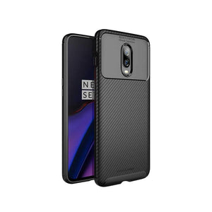 Viva Madrid Case & Cover كفر ظهر Vanguard لهاتف OnePlus 6T من Viva Madrid - أسود كربوني