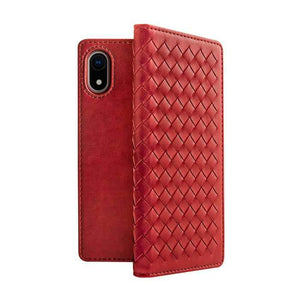 Viva Madrid Case & Cover كفر أصلي Tejido  دفتر لآيفون Xr من  Viva Madrid - أحمر