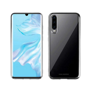 Viva Madrid Case & Cover كفر ظهر Glazo Flex لهواوي P30 من Viva Madrid - فضي متوهج