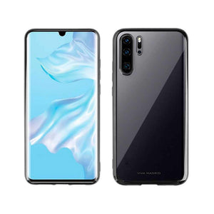 Viva Madrid Case & Cover كفر ظهر Glazo Flex لهواوي P30 Pro من Viva Madrid - أسود