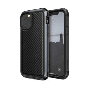 X-Doria Case & Cover X-Doria Defense Lux iPhone 11 Pro - Black carbon