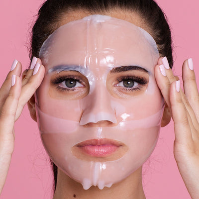 Collagen Biodegradable Hydrogel Face Mask Sheet