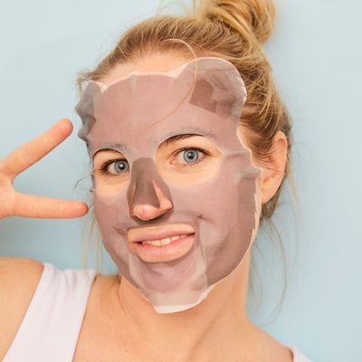 Hydrating Hyaluronic Acid Koala Face Mask Sheet