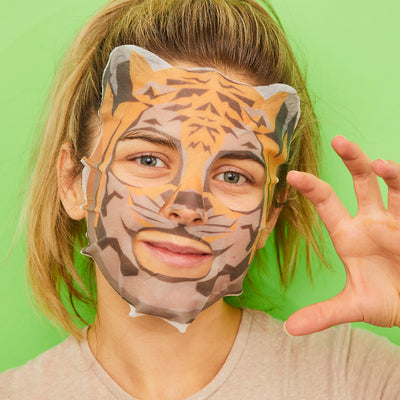 Spot Clear Tea Tree Tiger Face Mask Sheet