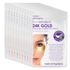 10 Pack 24K Gold Aquagel Biodegradable Under Eye Patch