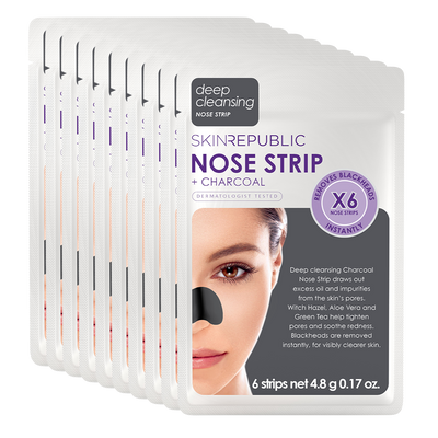 10 Pack Charcoal Nose Strip (6 Nose Strips)